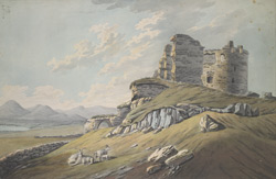 A View of Dundrum Castle in the County of Down